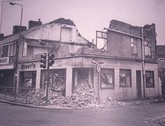 In 1983 Rossis was flattened to make way for the new road Bishop Auckland, Make Way, Local History, Durham, Newcastle, Past, England, Places, Landscapes