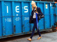 New York Street Fashion - Swan Lake hits the streets.
