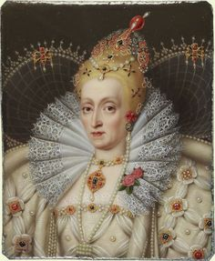 Portrait of Elizabeth I, Queen of England, 1550 - 1599 Elizabeth Bathory, Elizabeth I, Elizabethan Fashion, Elizabethan Era, Tudor History, British History, Tudor Dynasty, Tudor Era, Plantagenet