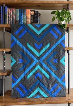 Quilts For Men Patterns, Modern Quilt Patterns, Easy Patterns, Boy Quilts, Scrappy Quilts, Mens Quilts, Quilting Projects, Quilting Ideas, Sewing Projects