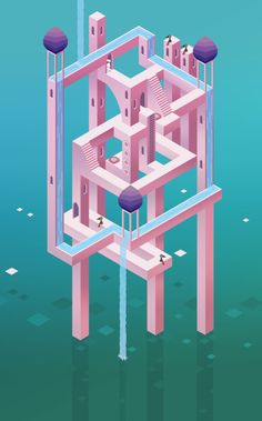 "Feature Friday April 24th 2015Welcome to Feature Friday everyone! We've got a tranquil collection to help ease your minds into the weekend. Irina Mir went green and celebrated Earth Day with trixels! After falling in love with Monument Valley, Kaila M Anderson recreated the aesthetics of the game in a level design of her own.And speaking of aesthetics…This is aesthetic!Original album art using Pixel mode by OCADU students. This playlist is entitled ""Departure"". Check it out here!"