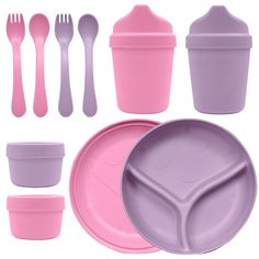 Green Sprouts Dinner Ware Multi-Pack - Made from plants, this Green Sprouts Dinner Ware Multi-Pack is petroleum free!Features: Multi-use di Plastic Ware, Cooking Gadgets, Dinner Sets, Natural Baby, Carnival Glass, Home Repair, Ceramic Bowls, Serving Dishes, Sprouts