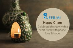 Celebrate this day with a heart filled with peace, love and hope. Neerja Blue Pottery wishes everyone Happy Onam!!!!