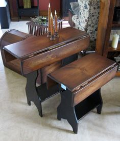 Primitive amish Furniture | Amish Country Furniture - End, Lamp, Sofa & Coffee Tables