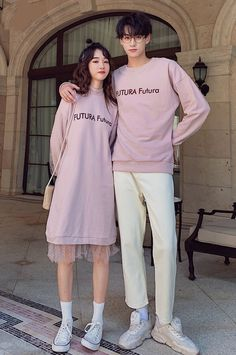 Outfits For Teenage Guys, Matching Couple Outfits, Matching Couples, Teenager Outfits, Korean Outfit Street Styles, Korean Outfits, Korean Couple, Cute Gay Couples, Fashion Couple