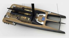 Australian yachtsman Mitch Booth and multihull expert Malcolm McKeon have joined forced to create a new brand of luxury catamaran superyachts — named BlackCat