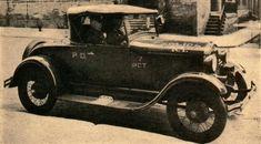 1928 Ford Radio Motor Patrol car.