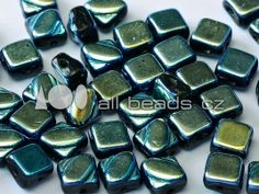 Silky Beads 6 x 6 mm Jet Blue Star Full Wholesale Beads, Jewelry Supplies, Jet, Stars, Blue, Handmade Accessories, Star