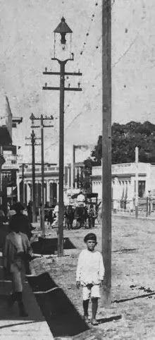 Notas sobre el primer sistema de alumbrado en la ciudad de Mayaguez, Puerto Rico en 1896.