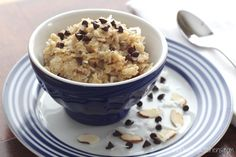 Almond Joy Oatmeal {from Two Healthy Kitchens}