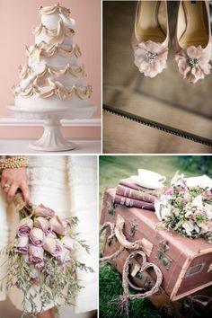 A Fairytale Blush Wedding | www.yesbabydaily.com