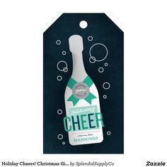 Holiday Cheers! Christmas Gift Tags