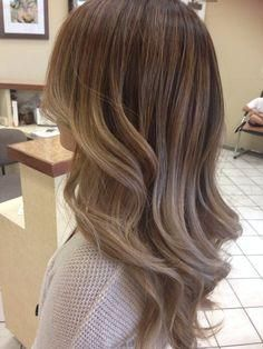 Ashy balayage ombr?? with a chocolatey base - ok, this is the one!!!