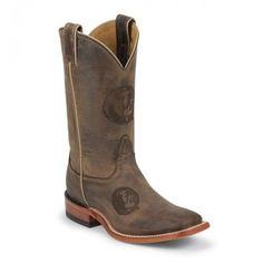 Nocona Boots Men's Florida State University Cowhide Branded Cowboy