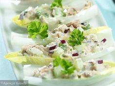 Łódeczki z tuńczykiem