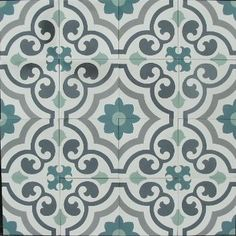 FLOORZ- Portugese tegels AGADIR 20x20 cm - Product in beeld - Startpagina voor vloerbedekking ideeën | UW-vloer.nl Tiled Hallway, Hallway Flooring, Kitchen Flooring, Patio Tiles, Downstairs Toilet, Lunch Room, Portuguese Tiles, Tiles Texture, Tile Patterns