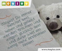 "Glückwünsche zur #geburt - ""Mögest Du"" Words Quotes, Sayings, Birth Gift, Little Fish, Happy Birthday, How To Make, Blog, Kids, Inspiration"