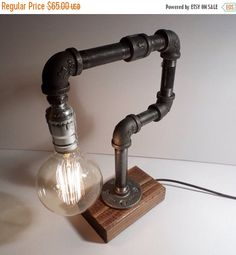 Industriële Lamp-rustieke Edison $65.00 - NV