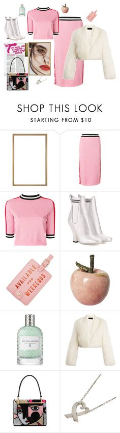 """""""Only for weekends"""" by juliabachmann ❤ liked on Polyvore featuring Lily Jean, MSGM, Fendi, ban.do, Bottega Veneta, Haider Ackermann, Prada and Tiffany & Co."""