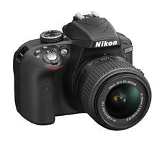 Nikon D3300 Kit. 18/55 VR II. Fotocamera Reflex.