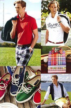 Preppy Boys, Preppy Style, Preppy Mens Fashion, Men's Fashion, Ivy League Style, Ivy Style, Polo Ralph Lauren, Country, Color Palettes