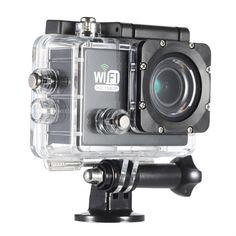 Full HD Wifi 12MP 1080P 30FPS 140 Degree Wide Lens Waterproof Action Camera