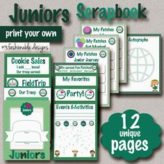 Fashionable Moms: Girl Scouts: Juniors Scrapbook with Coupon Code!!!
