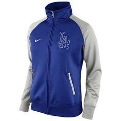 Women's Nike Royal L.A. Dodgers Full Zip Track Jacket 1.5