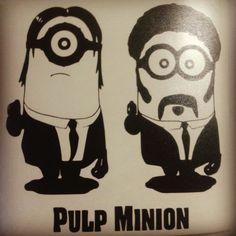 #minions                                               Pulp Minion