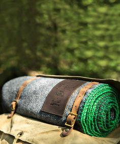 Woolrich X Danner Old Growth Wool Throw #MadeInUSA