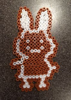 Hama bead perles - Miffy Ginger Bread