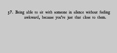 i never mind that kind of silence.