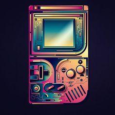 Personal favorites 1/10. #colorful #gameboy #gadget #gameboy #nintendo #designspiration #adobe #illustrator #rikoostenbroek #throwbackinsta #illustration #techno #neon #nextlevel #futurism #gaming #game #artist #artoftheday #lovewatts #thedesigntip #rsa_graphics #nintendolife #vector by rikoostenbroek