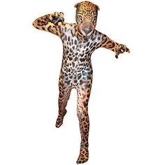 Jaguar Kids Costume Animal Planet Morphsuit Fancy Dress Small 94cm-107 cm Toys #Morphsuits