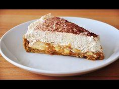 Recette facile : banoffee pie ou tarte banane caramel - YouTube