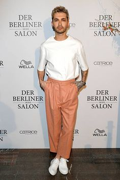 Bill Kaulitz attends the group presentation during the Der Berliner Mode Salon A/W 2017 at Kronprinzenpalais on January 18, 2017 in Berlin, Germany.