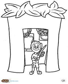 yom kippur shofar coloring page home schooling social studies pinterest yom kippur. Black Bedroom Furniture Sets. Home Design Ideas