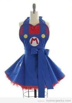 Delantal Mario! :)