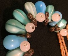 Quiero compartir lo último que he añadido a mi tienda de #etsy: Rework Vintage Neckace BOHO http://etsy.me/2HOn1kN Joya única realizada con antiguas piezas #joyeria #collar #boho #monedasdecambio #cristaldebohemia #tradebeads #vintage #azules #perlasdeafrica