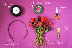 DIY: Couronne de fleurs !