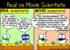 Real vs Movie Scientist - Imgur