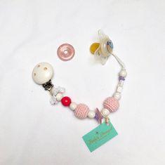 Nuggikette mit Rosenquarz Liebe und Harmonie Schnullerkette Pearl Earrings, Ebay, Pearls, Jewelry, Fashion, Pink Quartz, Shopping, Love, Moda