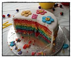 girls flower birthday cakes - Google Search