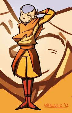 Aang Portrait by ~Astalakio on deviantART