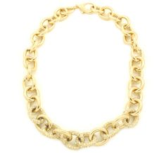 Blair Link Pave Necklace