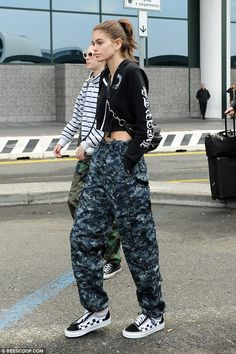 Arrival: Now that Fashion Week is back in Milan, 16-year-old Kaia Gerber has arrived in to...