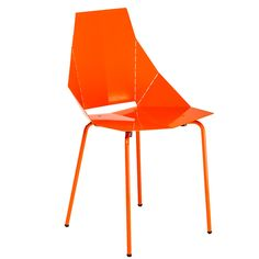 Real Good Chair Orange - blue dot #furniture