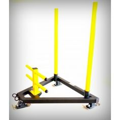 FAB WORX Weight Prowler Sled Gym Equipment Olympic Commercial Quad Push Pull