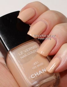 Chanel Lily Beige 451 fall 2007 swatches