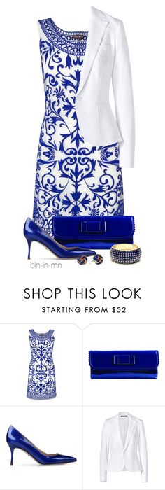 Designer Clothes, Shoes & Bags for Women Blue Outfits, Amrita Singh, Blue Pumps, Sergio Rossi, Stitch Fix, Royal Blue, Label, Blue And White, Ralph Lauren